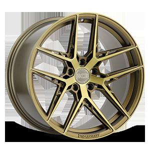 XO Wheels Cairo 5 Bronze w/ Brushed Bronze Face