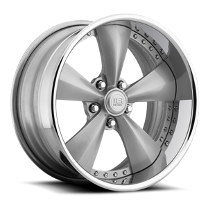 Magnum SE - U746 5 Gloss Silver w/ Chrome Lip   Raw Inner