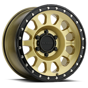 MR315 Gold / Black Lip 6 lug
