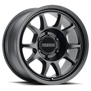 MR702 Matte Black 6 lug