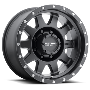MR301 The Standard Matte Black 8 lug
