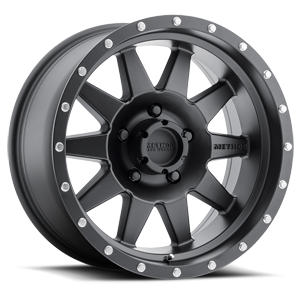 MR301 The Standard Matte Black 5 lug