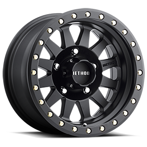 MR304 - Double Standard Matte Black 5 lug