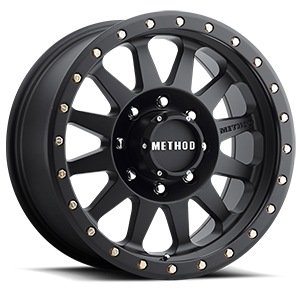 MR304 - Double Standard Matte Black 8 lug