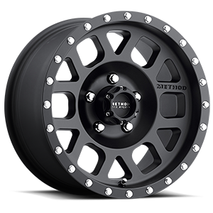 MR306 - Mesh Matte Black 5 lug