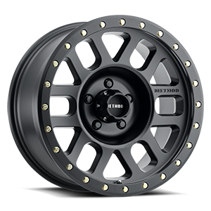 MR309 - Grid Matte Black 5 lug