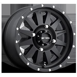 MR402 Matte Black 4 lug