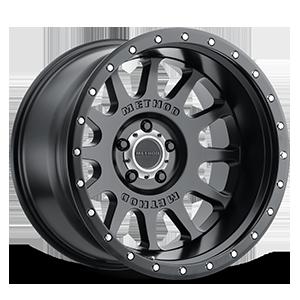 MR605 - NV Matte Black 5 lug