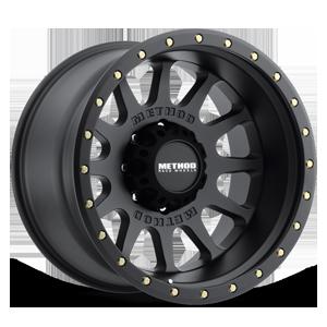 MR605 - NV Matte Black 8 lug