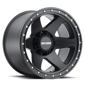 MR610 Matte Black 8 lug
