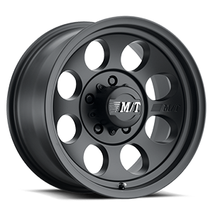 Classic III™ Black - 15x8 Satin Black w/Clear Coat 5 lug