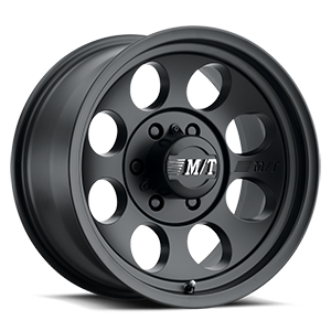 Classic III™ Black - 17x9 Satin Black w/Clear Coat 6 lug