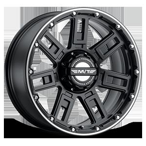 Sidebiter™ Lock - 20x9 6 Satin Black