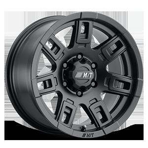 Sidebiter™ II - 17x9 6 Satin Black
