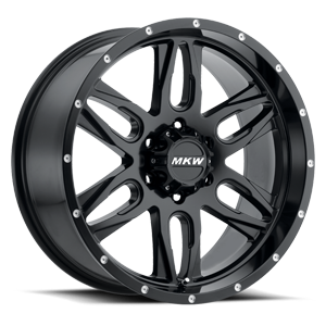 M201 Satin Black 6 lug