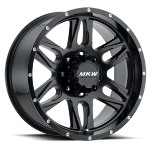 M201 Satin Black 8 lug