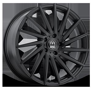 Motiv Luxury Wheels 417 Montage 5 Satin Black