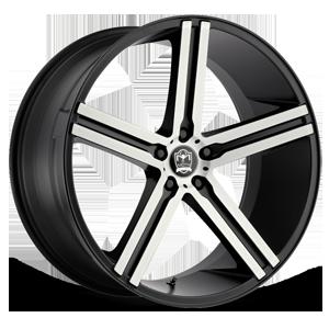 Motiv Luxury Wheels 418 Melbourne 5 Satin Black Machined