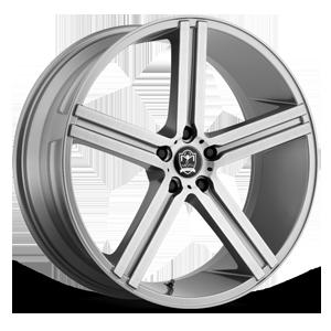 Motiv Luxury Wheels 418 Melbourne 5 Silver Machined