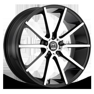 Motiv Luxury Wheels 419 Marseille 5 Gloss Black Machined Face