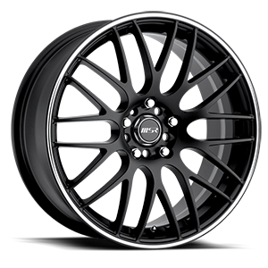 045 Black with Superfinished Stripe 5 lug