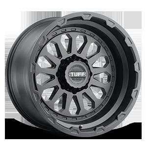 T3A Matte Black 8 lug