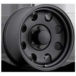 164MB Mod Matte Black 6 lug