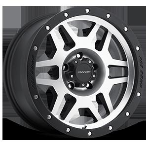 41 Series Phaser Black Machined 5 lug