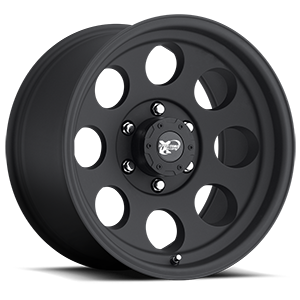 69 Series Matte Black 6 lug