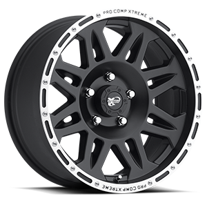 Pro Comp Wheels 05 Series 5 Matte Black Machined