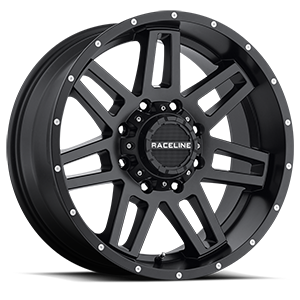 931B Injector Satin Black 8 lug