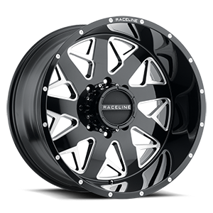 939B Disruptor Black Milled 8 lug