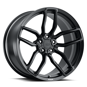 R904 Satin Black 5 lug