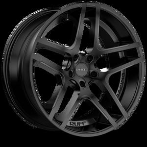 R954 Satin Black 5 lug