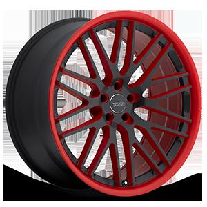 BM4 Black and Red 5 lug