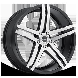 Strada Wheels Domani 5 Gloss Black Machined