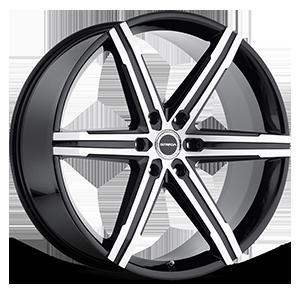 Strada Wheels Filetto 6 Black Machined