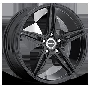 Strada Wheels Malato 5 All Gloss Black