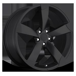 Style 85 Satin Black 5 lug