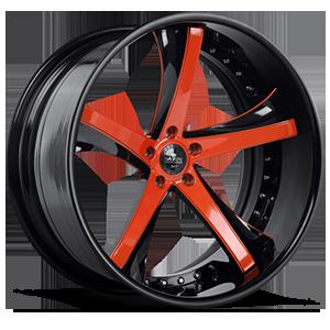 SV29-C Orange and Black 5 lug