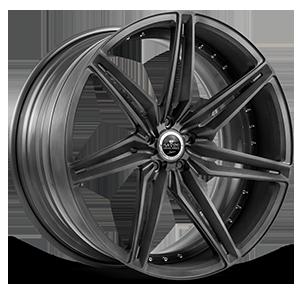 SV58-D Matte Black 5 lug
