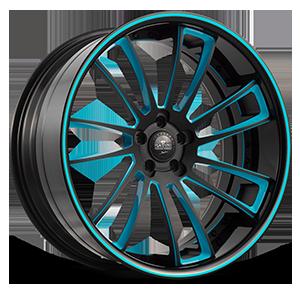 SV60-C Black and Blue 5 lug