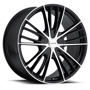 F-67 Night Moves Black w/Mirror Face 6 lug