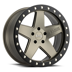 Crawler Matte Bronze with Black Lip Ring 5 lug
