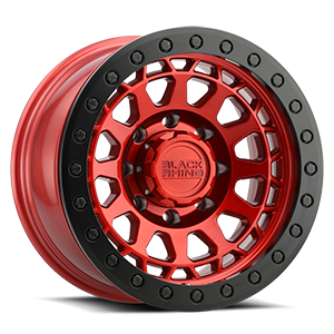 Primm Beadlock Candy Red w/ Black Ring 8 lug