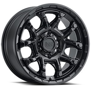 Ark 6 Matte Black with Gloss Black Bolts
