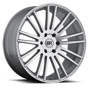 Kruger Silver with Mirror Cut Face 6 lug