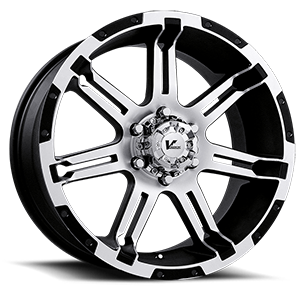 V Rock Wheels VR1 Overdrive 6 Black