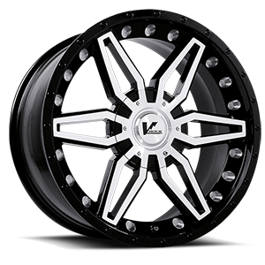 VR4 Axial Black 6 lug