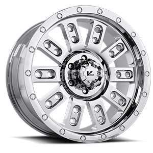 V Rock Wheels VR6 Drone 6 Chrome